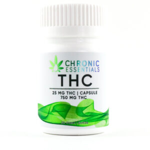 Chronic Essentials - THC Capsules