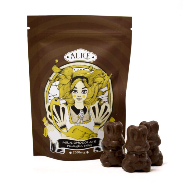 Alice - Milk Chocolate Mushroom 2500mg