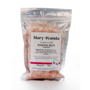 Mary + Wanda CBD Soaking Salts